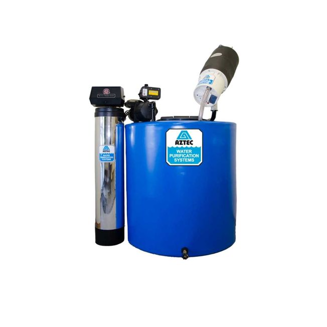 CHLOR-O-MATIC WATER PURIFICATION SYSTEM