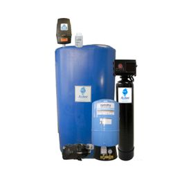 INDOOR RESIDENTIAL CHLORINATING FILTRATION PACKAGE